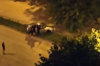 Луда нощна каскада в Кършияка СНИМКИ