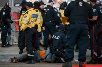 Четирима застреляни на купона на Торонто за титлата