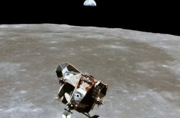 Появи се невиждана досега СНИМКА на Аполо 11