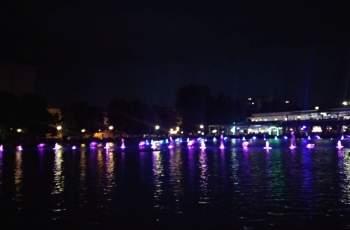 Магическо шоу на Пеещите фонтани в Пловдив СНИМКИ