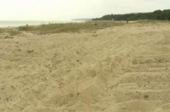 Проверка установи разрушени дюни на плаж Камчия-север