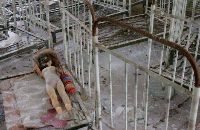 Детската градина в село Копанье изглежда зловещо