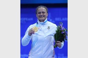 Оряшкова даде златния старт за България в Минск