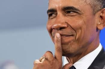 Изненада! Вижте с кого спипаха Барак Обама в Италия СНИМКИ