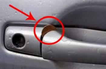 Ако видите стотинка в дръжката на вратата, викайте полиция