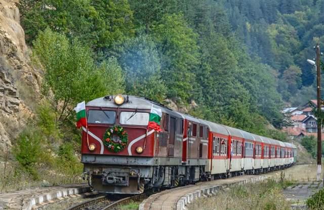 С Малкия влак в деня на Велинград