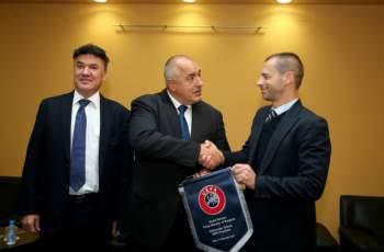 Стартира срещата за българския футбол при Борисов