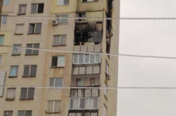 Голяма трагедия! Мъж изгоря в апартамента си