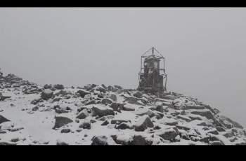 Сняг покри Мусала през юли