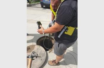 Обследваха с фоторобот канализацията в Сърница