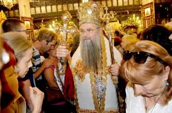 Пловдивчани се поклониха пред Света Марина СНИМКИ