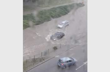 Потоп в Бургаско, изляха се 135 л/кв.м