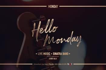 Ако сте в Пловдив, отидете на Hello Monday в Sinatra