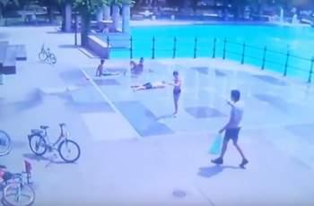 Момче открадна чанта от колело