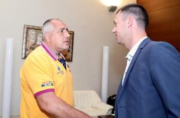 """Борисов се срещна с президента на ПФК """"Арда"""""""