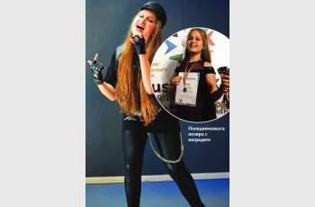12-годишна пловдивчанка омагьоса румънците с рок
