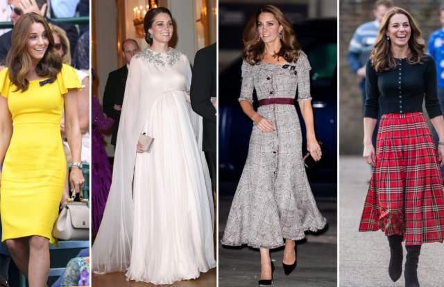 Снимка: Кейт Мидълтън  - модната икона на Великобритания