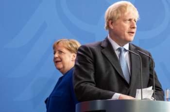 Борис Джонсън започна преговорите с Меркел