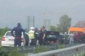 ИЗВЪНРЕДНО! Тежка катастрофа с ранени на изхода на Пловдив