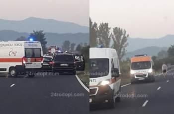 """Лоши новини след мелето, затворило пътя за """"Маказа"""" СНИМКИ"""