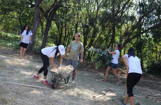 Младежкият хълм в Пловдив вече има нова спортна площадка - 3