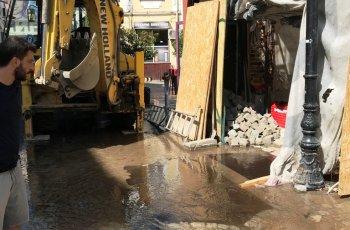 Калпави строители наводниха Капана