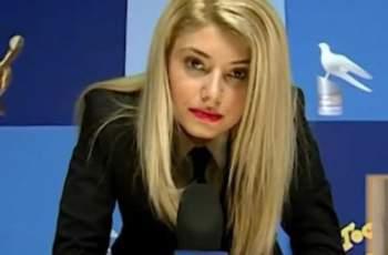 Ева Веселинова изпоти мрежата, вижте как се появи в ефир