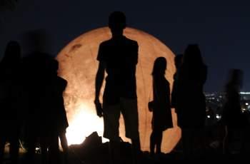 Приказна луна кацна на Небет тепе ВИДЕО СНИМКИ