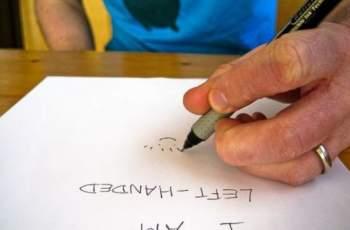 Ако пишете с лявата ръка, непременно прочетете това