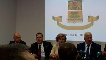 Новите кметове с първа пресконференция НА ЖИВО