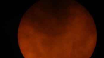 Уникални кадри от вчерашния астрономическия феномен ВИДЕО