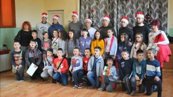 Локо зарадва деца от пловдивско училище
