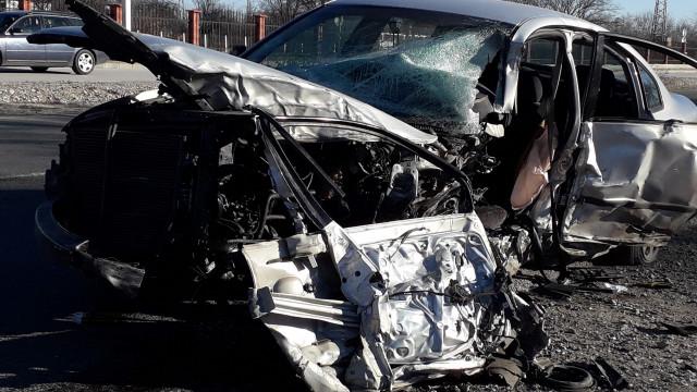 Затвориха Цариградско шосе заради адската катастрофа ВИДЕО СНИМКИ - 1