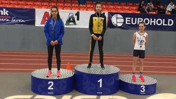 Радина Величкова (СКЛА Ботев) е шампионка на трибой за момичета РЕЗУЛТАТИ