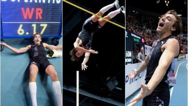 Нов световен рекорд в овчарския скок – Дуплантис скочи 6.17