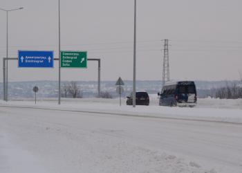 """Отворени за движение са пътищата в областта, АМ """"Марица"""" е проходима"""