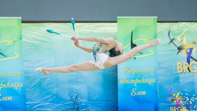 """Дуо гимнастички на Тракия в категория """"Елит"""" на Старшата"""