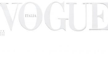 """Почит към лекарите: Италианският """"Вог"""" излезе с бяла корица"""