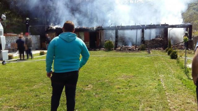 Ужас! Изгоря къщата на известна актриса