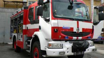 Училище горя в Първомай, няма пострадали