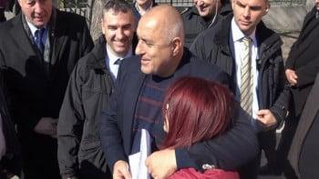 Премиерът Борисов на спешна визита в Пловдив в разгара на протестите