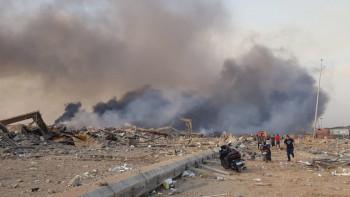 Мощен взрив разтърси Бейрут, има жертви и ранени