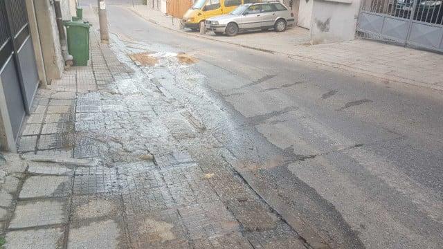 Пак бликна питеен ручей за 3.50 лв. кубика по улица в Хасково