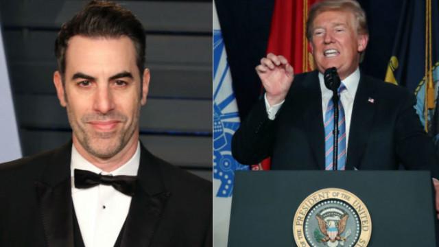 Борат към Тръмп: И аз не те намирам за забавен, но целият свят ти се смее