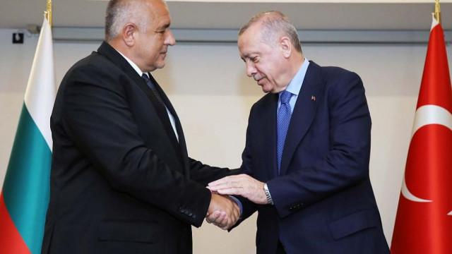 Ердоган към Борисов: Бързо оздравяване! Ако трябва - ще помагаме с лечението
