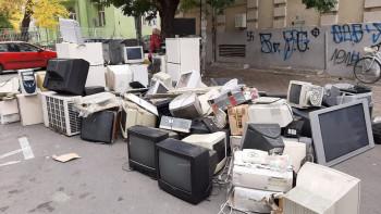 Един тон непотребна техника събраха в Асеновград
