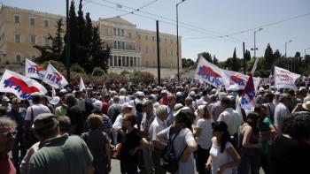 Забраниха голям митинг в Гърция