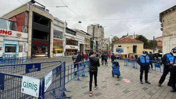"""Нова мярка: Ограничават достъпа до """"Главната"""" на Истанбул"""