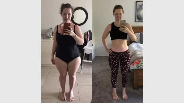 Млада жена отслабна с 43 кг, спазвайки 3 прости правила