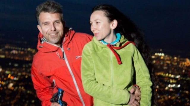 Половинката на алпинист №1 у нас Боян Петров, който изчезна